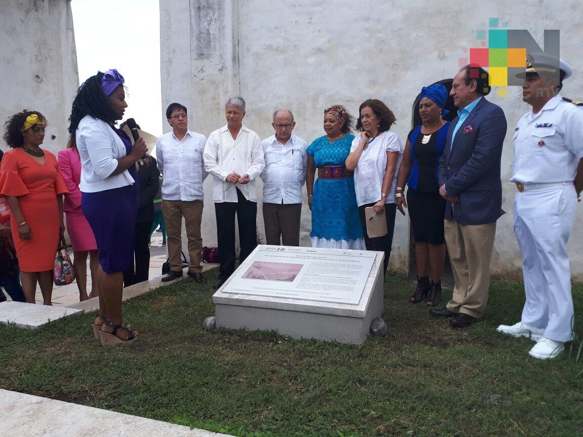 Fortaleza de San Juan de Ulúa tercer sitio de Memoria de la Esclavitud y Poblaciones Africanas y Afrodescendientes