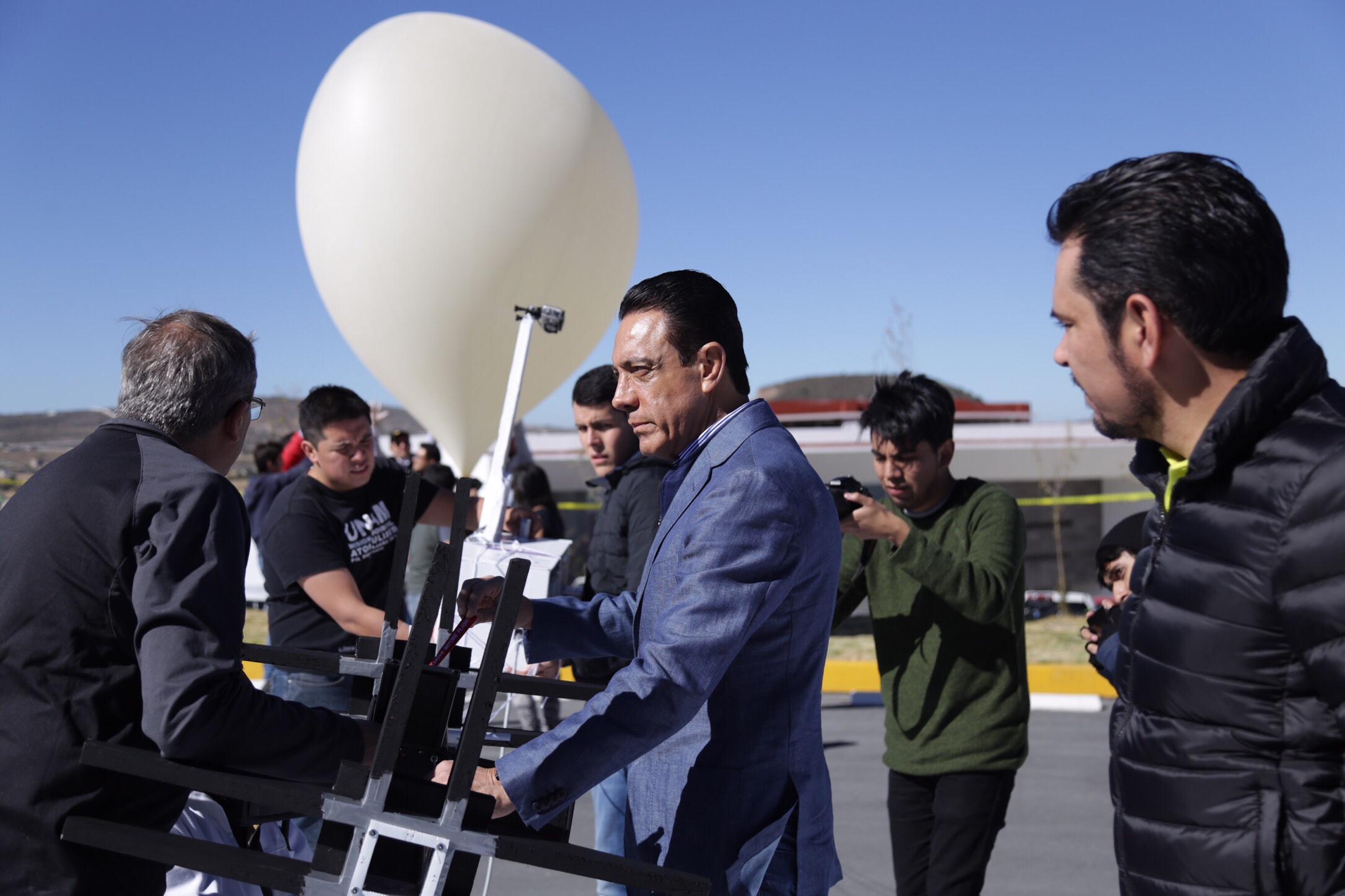 """Lanzamiento de primer nanosatélite en Hidalgo, """"Nanoconect 1"""""""