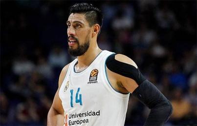 Real Madrid y mexicano Ayón sufren primera derrota en baloncesto español