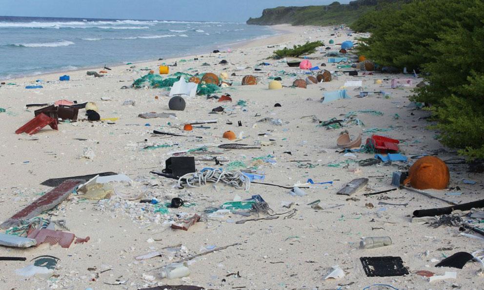 Exhortan a vacacionistas a no dejar desechos sólidos en playas