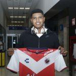 Wilder Cartagena llegó a Veracruz este domingo
