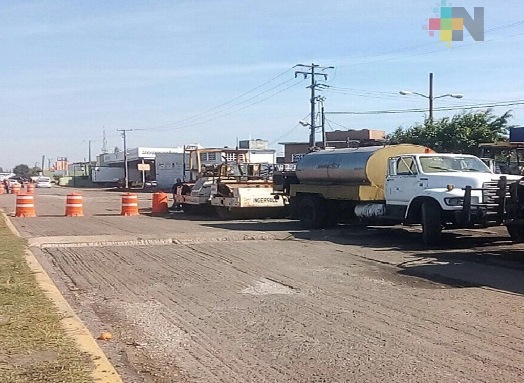 Reactivan reconstrucción de la carretera Coatzacoalcos-Minatitlán; llegan recursos