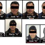 Liberan a 2 víctimas y capturan a 8 secuestradores, en dos operativos simultáneos