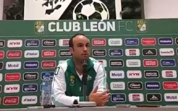 Un gran reto llegar al fútbol mexicano con León: Landon Donovan