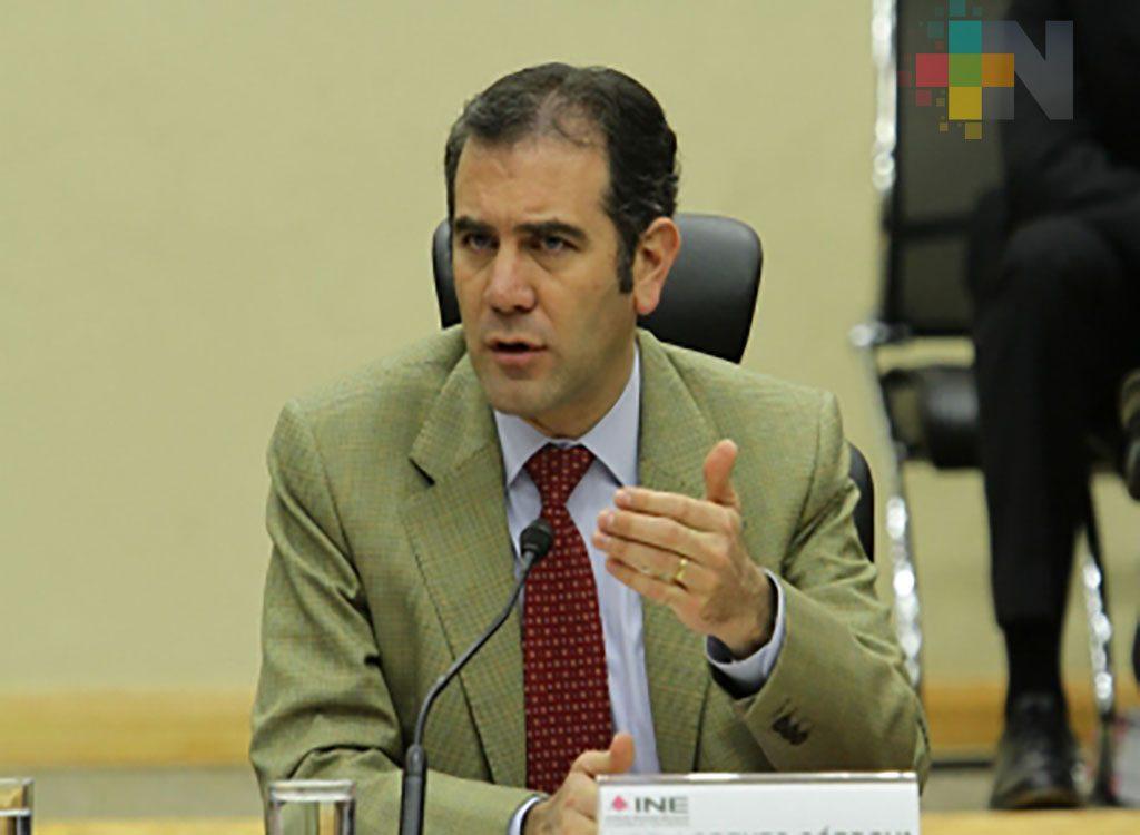 INE pide a gobiernos respetar ley y no intervenir en proceso electoral