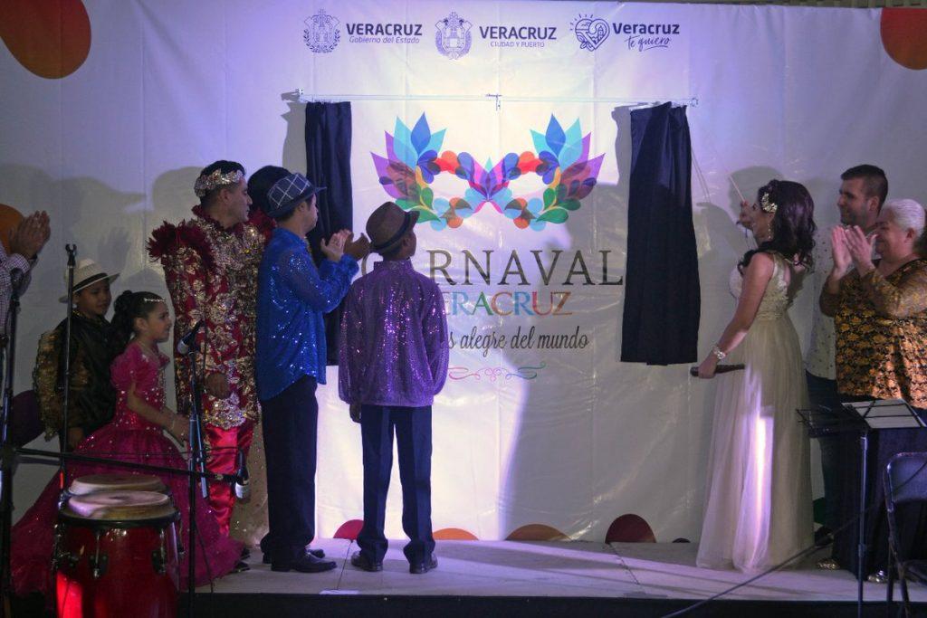 Presentan tema y logo del Carnaval de Veracruz 2018