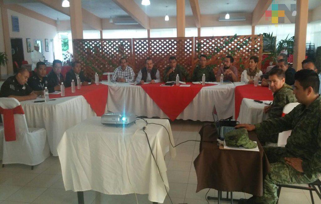 Ejército Mexicano y autoridades civiles coordinan acciones de seguridad para la zona de Martínez de la Torre