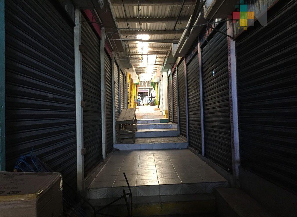 Comenzará regularización de locales abandonados del mercado Plaza del Sol de Coatzacoalcos