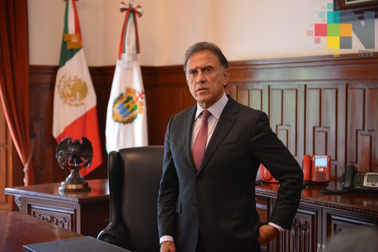 Gobierno de Veracruz está abierto al diálogo; no se permitirán bloqueos de carreteras, reitera el gobernador Yunes