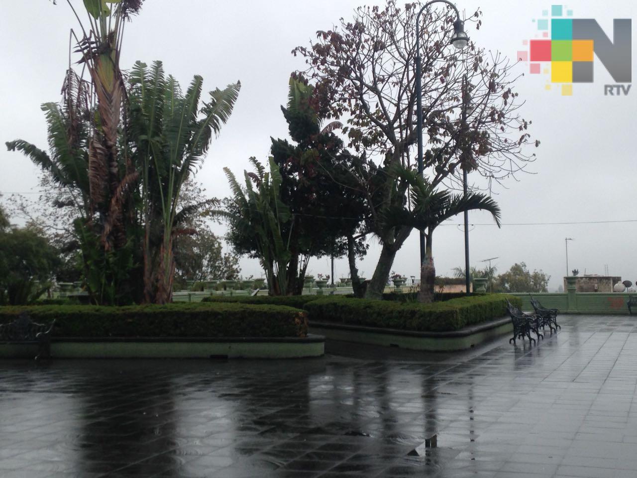 Siguen nieblas, lloviznas y lluvias en la entidad veracruzana