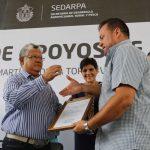 Aprobó Sedarpa dos mil proyectos para ejecución del programa de Concurrencia
