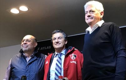 Presentan a Rubén Omar Romano como nuevo entrenador del Atlas