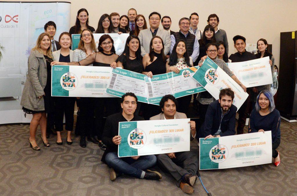 Alumnos de UNAM arrasan en concurso de empresa coreana sobre innovación