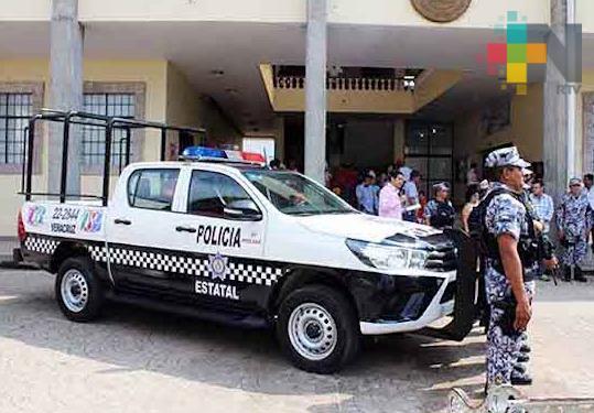 En Cosoleacaque continúa la conformación de una Policía Municipal