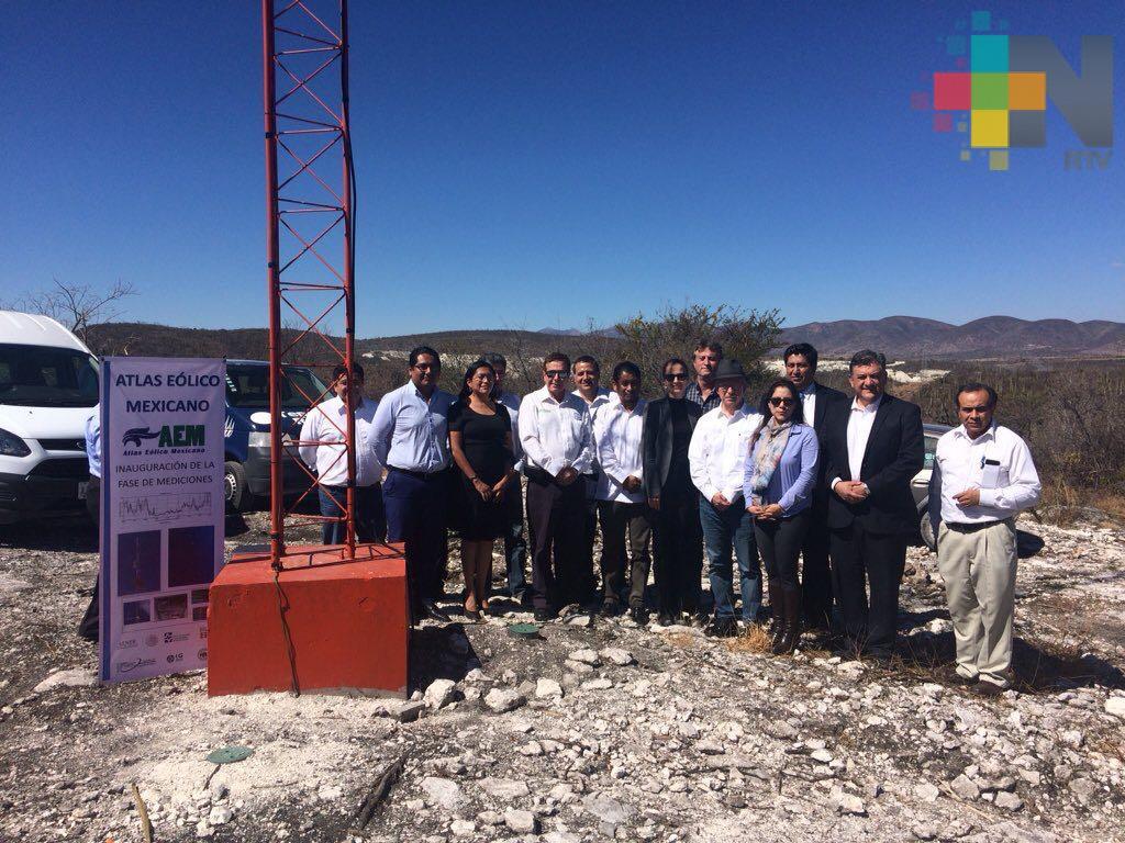 Se pone en marcha el Atlas Eólico Mexicano
