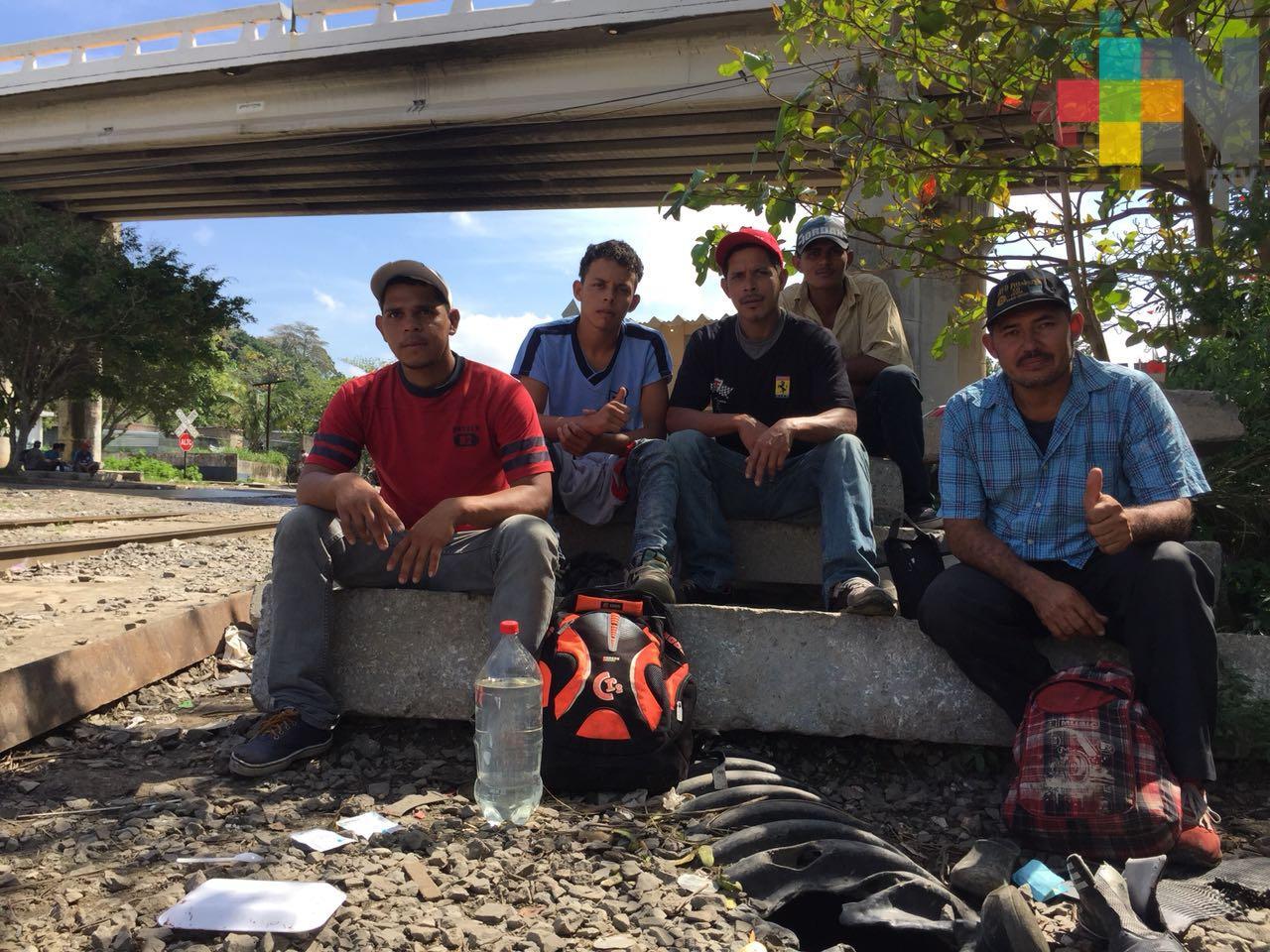 Migrantes centroamericanos siguen intentando alcanzar el sueño americano