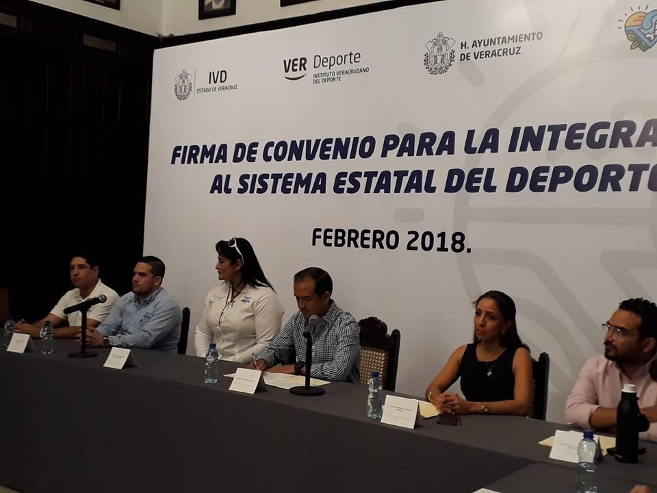 COMUDES firman convenio para la Integración al Sistema Estatal del Deporte