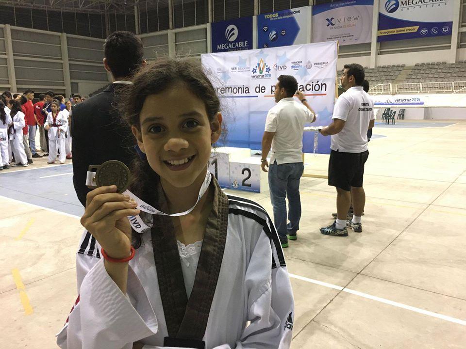 Bárbara Méndez, un prospecto de Olimpiada en taekwondo