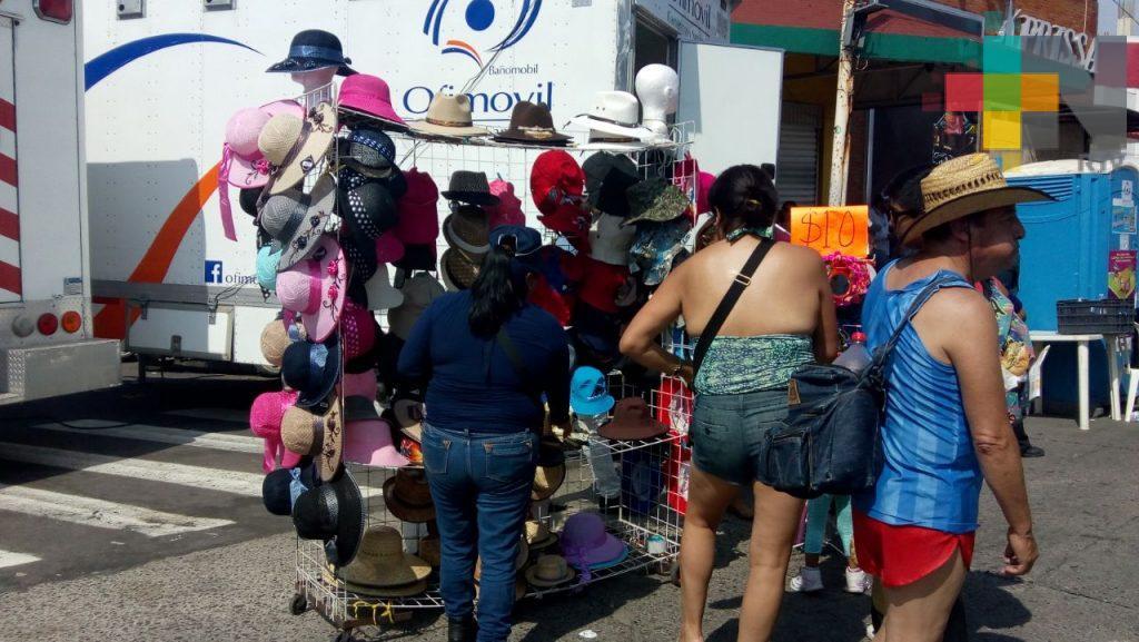 Comerciantes de Veracruz registran un repunte en sus ventas por carnaval