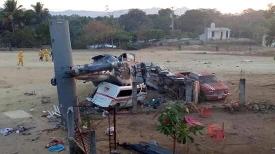Aumenta a 13 muertos el saldo por el accidente aéreo en Jamiltepec, Oaxaca
