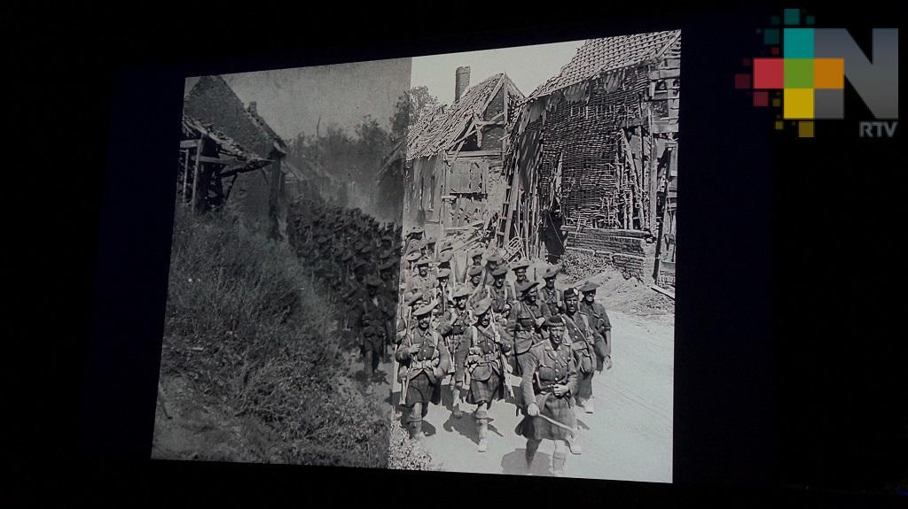 Cineasta Peter Jackson realiza documental sobre Primera Guerra Mundial