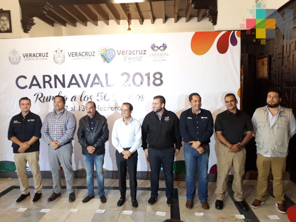 Todo un éxito el Carnaval de Veracruz: Alcalde