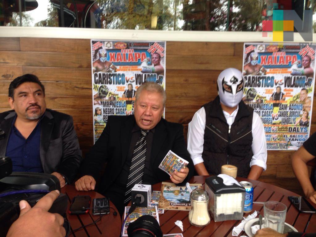 Xalapa ha sido semillero de talentos para la lucha libre