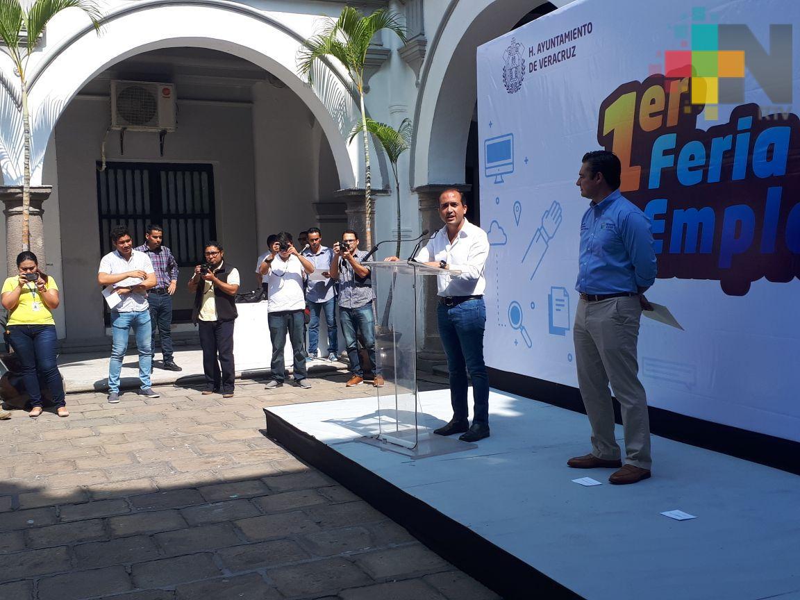 Anuncian primera Feria del empleo en Veracruz puerto