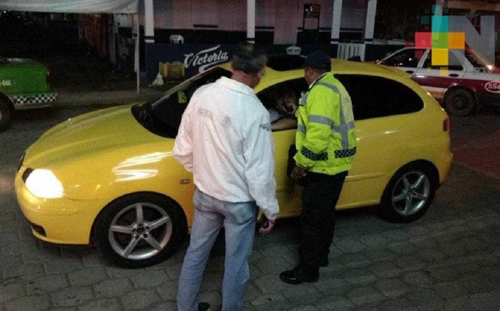 En enero 765 conductores rebasaron los límites de alcohol permitido