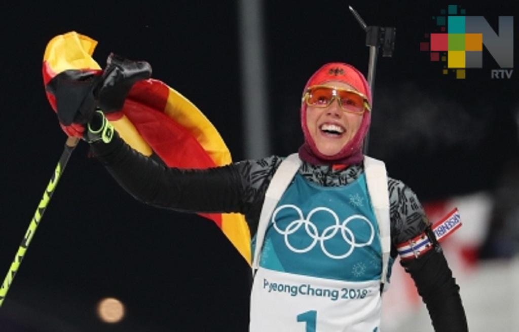 Alemania amplía dominio en cuadro de medallas en PyeongChang 2018