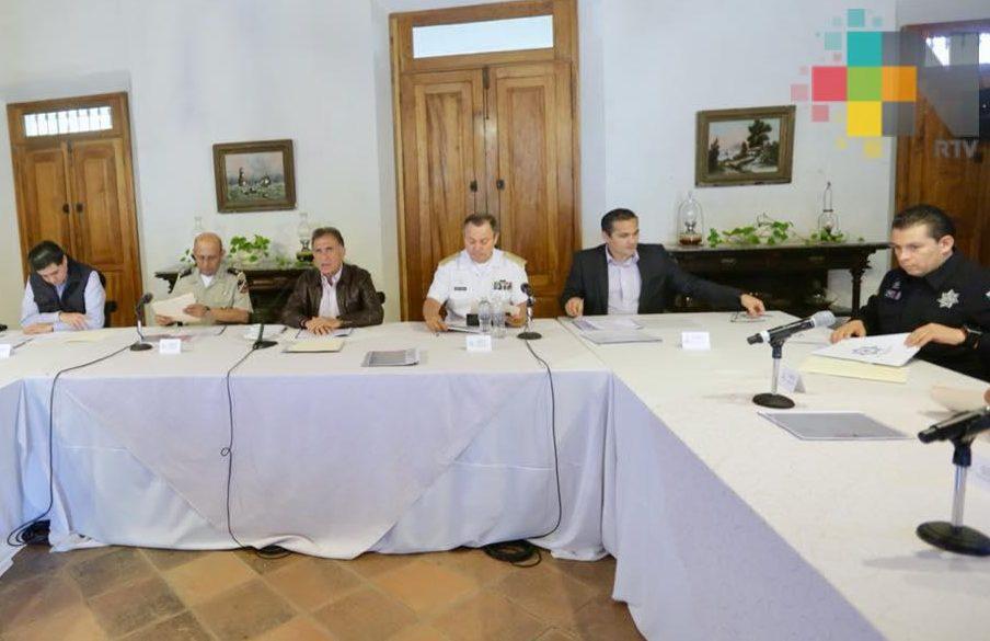 Se mantienen bajos índices delictivos en la entidad: Grupo de Coordinación Veracruz
