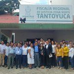 Inaugura Fiscal General Unidades de Atención Temprana en Tantoyuca, Ozuluama y Pánuco