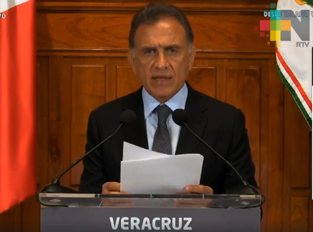 Téllez Marié no tiene vínculos con grupos criminales, Reforma sólo enloda: Gobernador Yunes