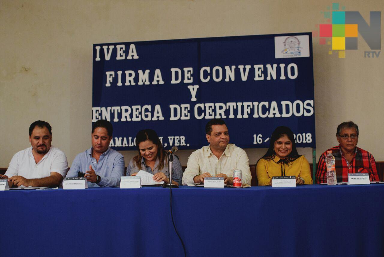 IVEA y ayuntamientos de la zona del Papaloapan firman convenio