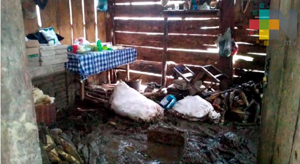 PC estatal reubicará a damnificados de la comunidad de Jonotal Azteca