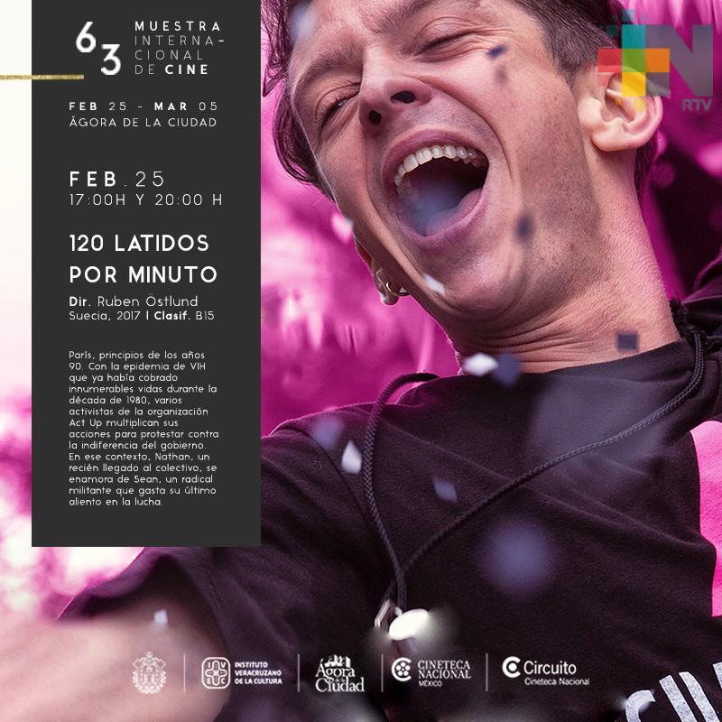 Inicia la 63º Muestra Internacional de Cine, en el Ágora de la Ciudad