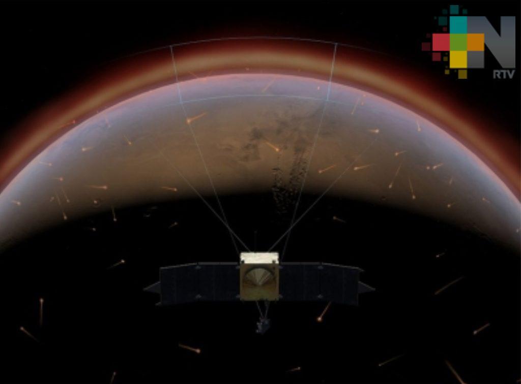 NASA muestra fotografías de líneas tras avalanchas de polvo en Marte