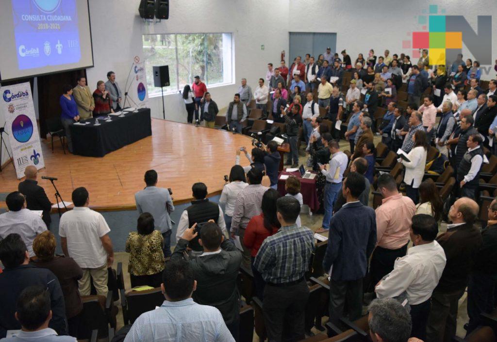Inician Foros para Plan Municipal de Desarrollo en Córdoba