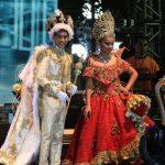 Coronan a los reyes infantiles del Carnaval de Veracruz 2018