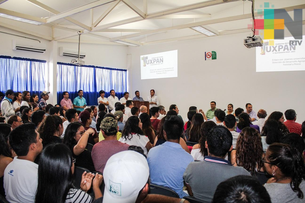 Ayuntamiento de Tuxpan celebró convenio de colaboración con la Facultad de Ciencias Biológicas y Agropecuarias de la UV