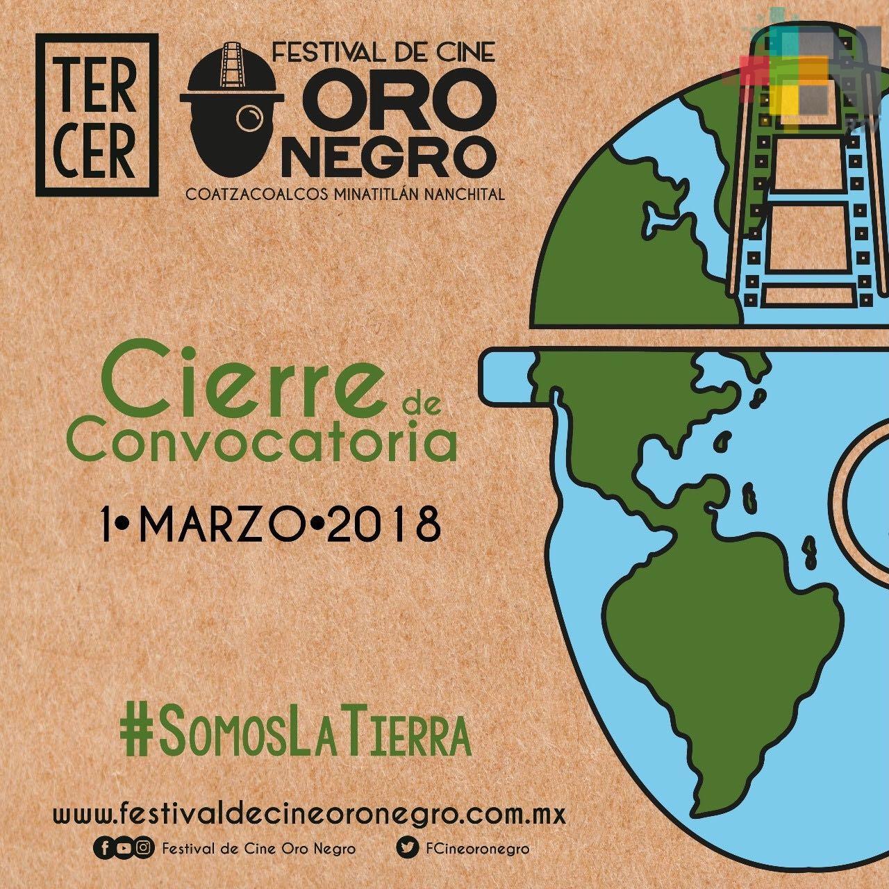 Festival de Cine Oro Negro se realizará en Coatzacoalcos, Minatitlán y Nanchital
