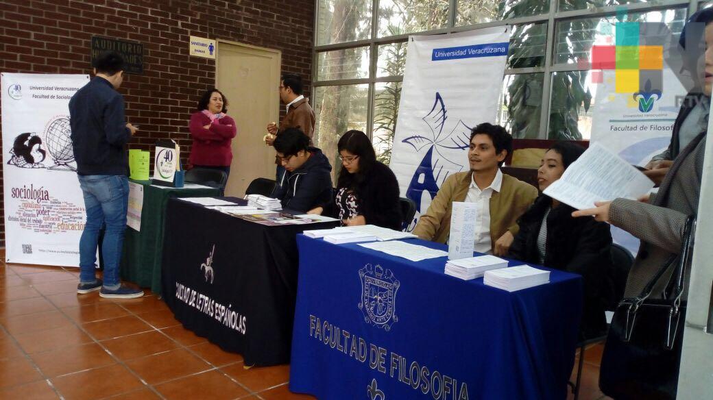 Expo Humanidades da a conocer la oferta de licenciaturas en esa área académica