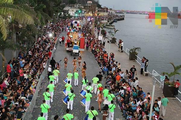 Del 25 al 30 de abril será el carnaval de Tuxpan 2018