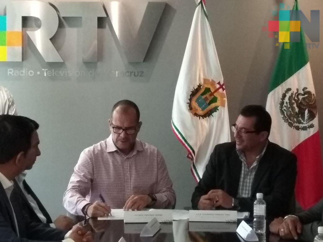 Tecnológicos de Veracruz y RTV firman convenio de colaboración