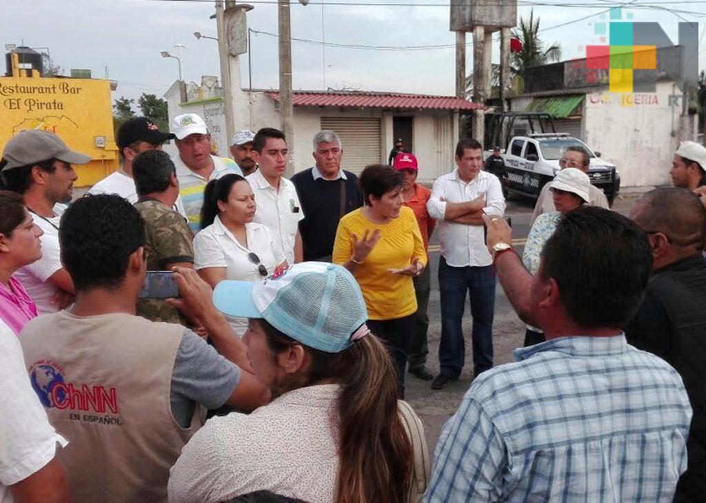 Pobladores de Casitas liberan carretera federal Nautla-Poza Rica; se reunirán con autoridades para negociar su rehabilitación