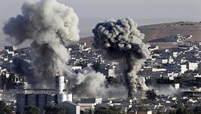 Suman casi 200 muertos y 850 heridos por bombardeos en Siria