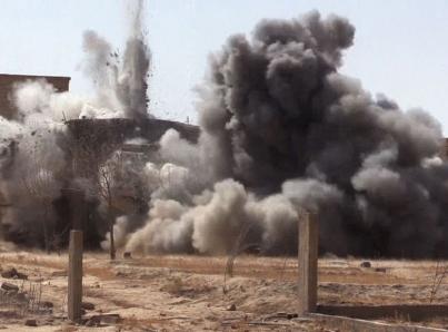 Una nueva oleada de bombardeos golpea Ghouta Oriental