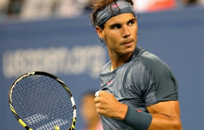Rafael Nadal llega a Cozumel para entrenar para Abierto Mexicano