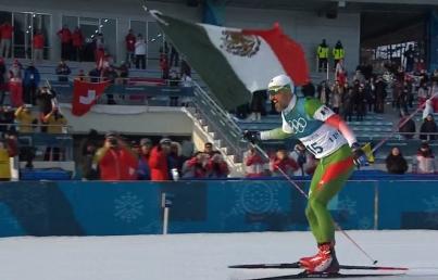 Mexicano Germán Madrazo cumple con debut en PyeongChang 2018