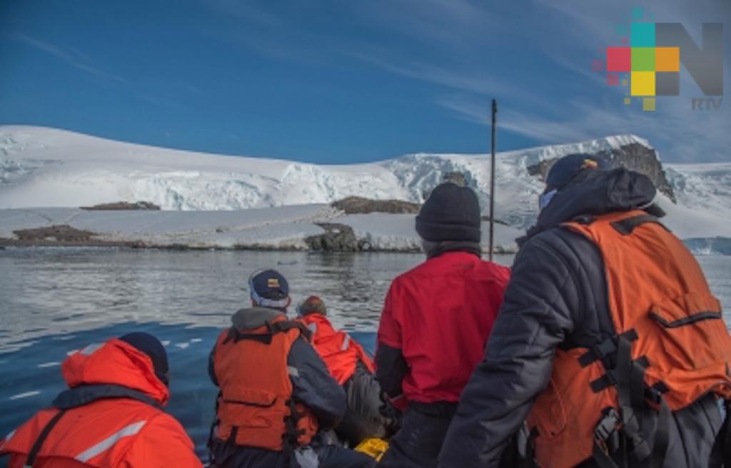 Científica mexicana inicia hoy expedición a la Antártida